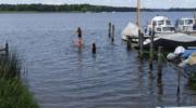 Badespaß im See